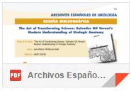 """Dr. Enrique Pérez-Castro en la la revista """"Archivos Españoles de Urología"""""""
